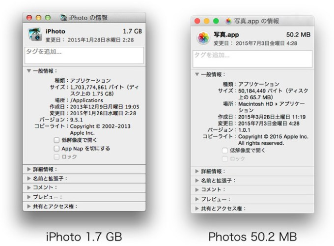 iPhoto-and-Photos-Size