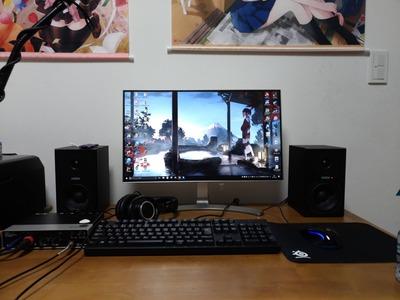 ワイのパソコン環境、完成する