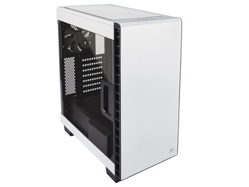 Corsair、E-ATX対応のミドルタワーPCケース「Carbide Series Clear 400C」のホワイトモデルを8月11日に発売