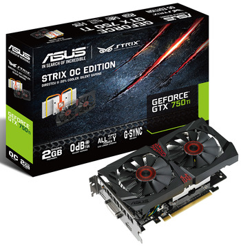 ASUS、GeForce GTX 750 Ti STRIXを発表