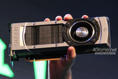 """GTX 780""か? NVIDIA,謎のグラフィックスカードを上海で公開"