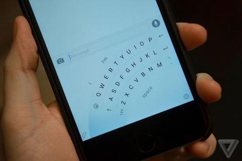 マイクロソフトが革命的な扇形のスマホキーボードアプリ「Word Flow」を開発中 5.5インチでもサクサク入力