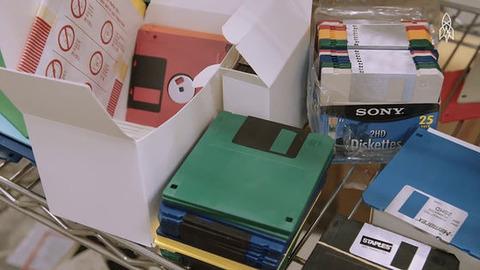フロッピーディスクの販売を続ける社長にインタビュー