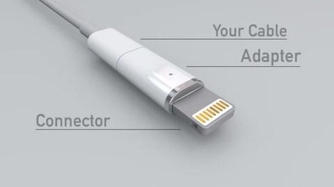LightningケーブルをMacBookのMagSafeのようにカチャっとくっつけられる代物が登場! 公式に採用しろ