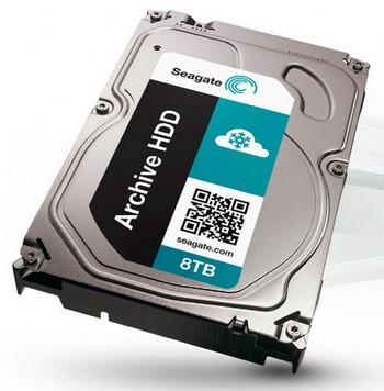 Seagate、8TB HDD「Archive HDD v2」をリリース