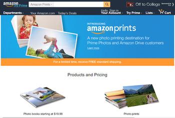 米Amazon.com、格安オンライン写真プリントサービスを開始 1枚9円から