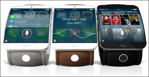 米アップル、腕時計端末「スマートウォッチ」10月発売予定か
