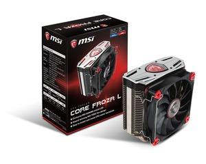 MSIのSocket AM4対応のCPUクーラー「CORE FROZR L」が近日発売