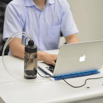 サンコー、ノートPC向けUSB水冷静音クーリングパッドを発売
