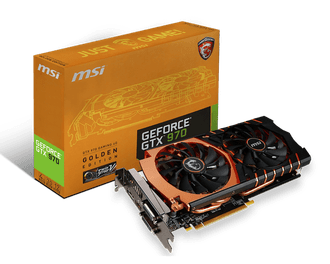 MSI、GeForce GTX 970の限定モデル「GTX 970 GAMING 4G Golden Edition」