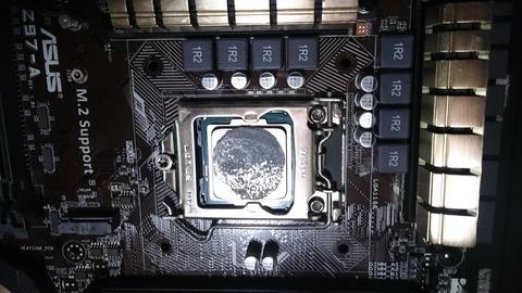 CPUの温度が高いんだが