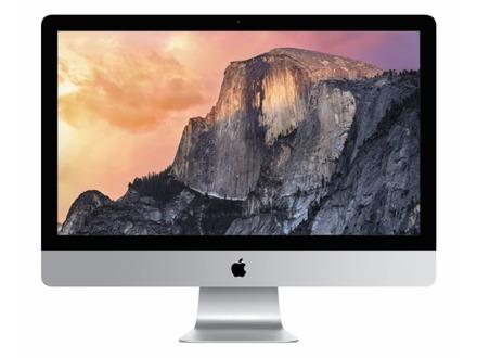 新型iMacは「Retina 5Kディスプレイ」搭載、4Kを超える5120×2880ピクセル