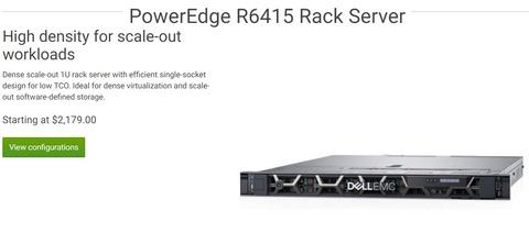 Dell EMC、「Dell EMC PowerEdge」AMD Epyc搭載サーバー3機種を発売