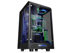 Thermaltake、3面に強化ガラスを採用のスーパーフルタワーPCケース「The Tower 900」