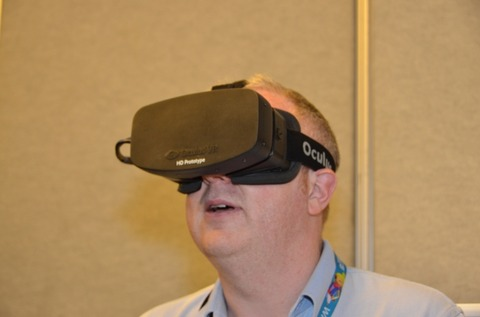 フルHD対応 新型ヘッドマウントディスプレイ「Oculus Rift」キタ━━━━(゚∀゚)━━━━!!