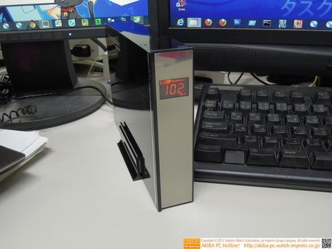 外付けHDD 「私の転送速度はxxMB/Sです」