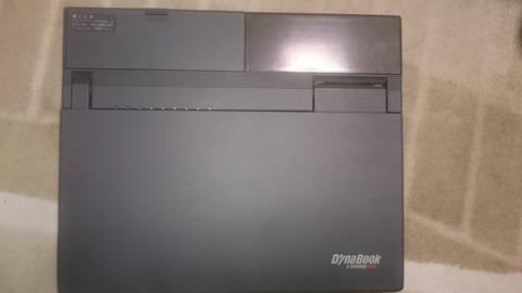 ワイの家からくっそ古い東芝ノートパソコン「DynaBook J-3100SS」が発掘される!w
