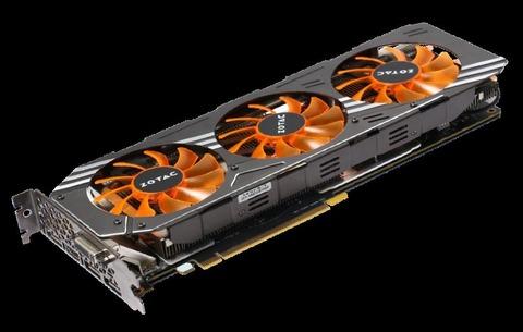 ZOTAC、トリプルファン仕様の「GeForce GTX 980 AMP Edition」を発表