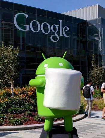 Googleの次世代Android OSはMarshmallow(マシュマロ)と判明―恒例のマスコットもお披露目