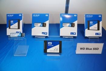 WD Blue/GreenブランドのSSDが国内発売 東芝製15nm TLC NANDを採用