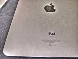 iPadのイヤホン差す穴に米粒詰まってて差せない