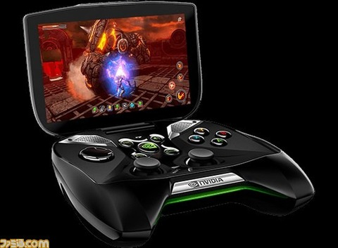 NVIDIA、Android搭載携帯ゲーム機「Project SHIELD」を発表 Androidゲームのほか、PCゲームの遠隔操作にも対応