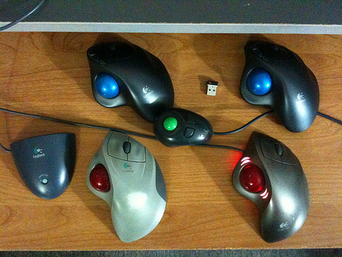 It's A Trackball World