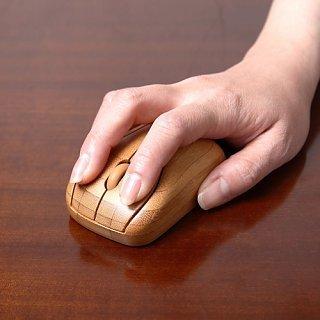 【画像】ワイヤレス竹製マウス