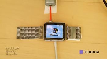 Apple WatchにWindows 95を移植して走らせることに成功