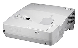 NEC、24cmの距離で80インチ画面が投影可能な超短焦点プロジェクターを発売。実売12万程度