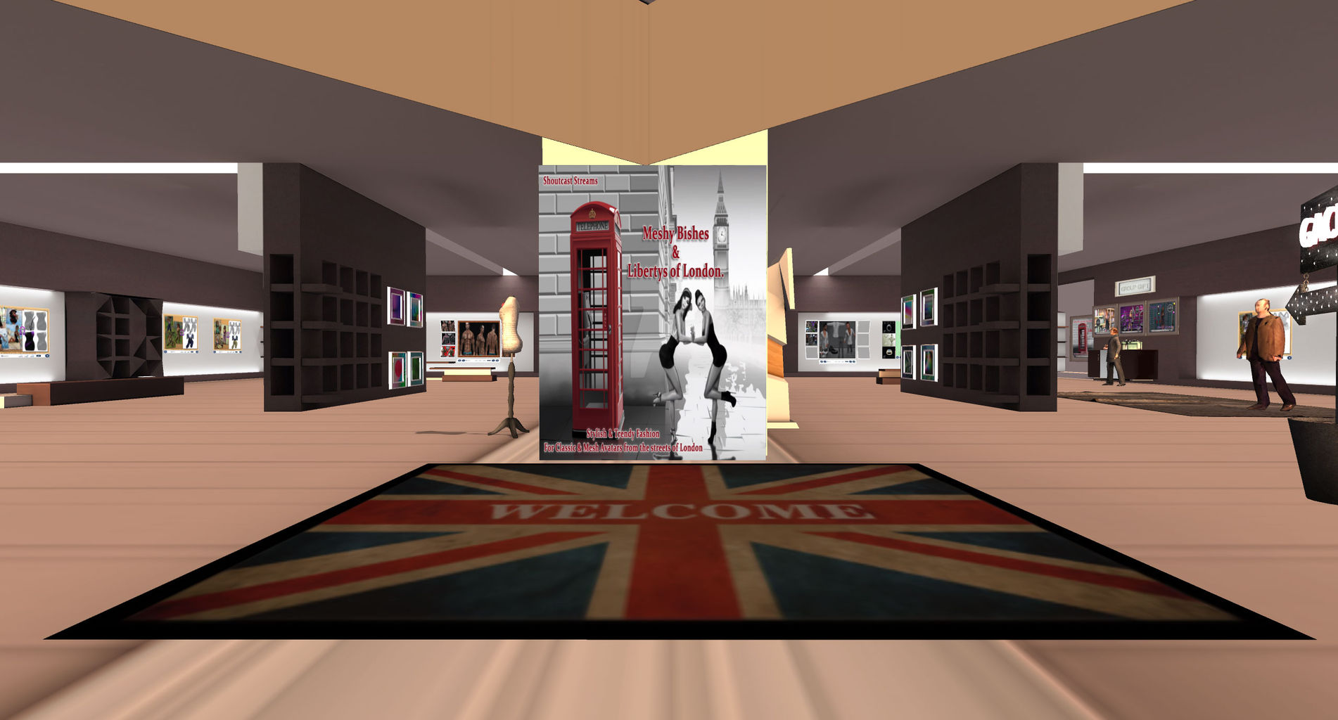 Second Life Store Meshy Bishes Store Ft Libertys Of London Corsica Second Life