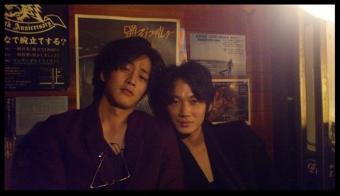 【画像】松坂桃李&綾野剛、ほろ酔い2ショットに「かっこよすぎ」の声
