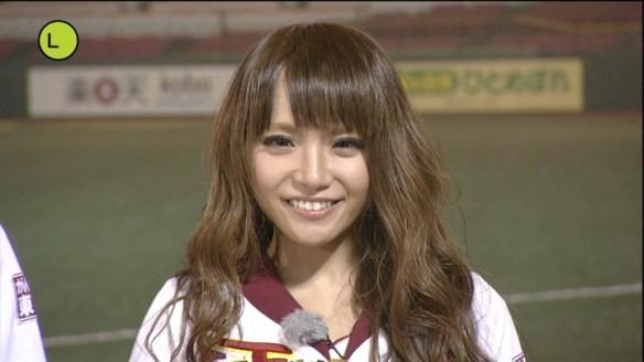 【画像】東北ゴールデンエンジェルスのチアリーダーの上田亜樹さんが可愛いと話題に