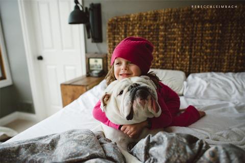 犬と赤ちゃん7