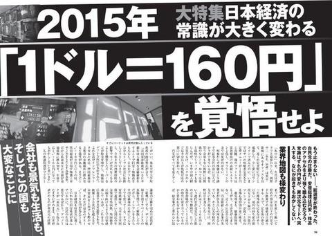 超円安1ドル160円台の世界