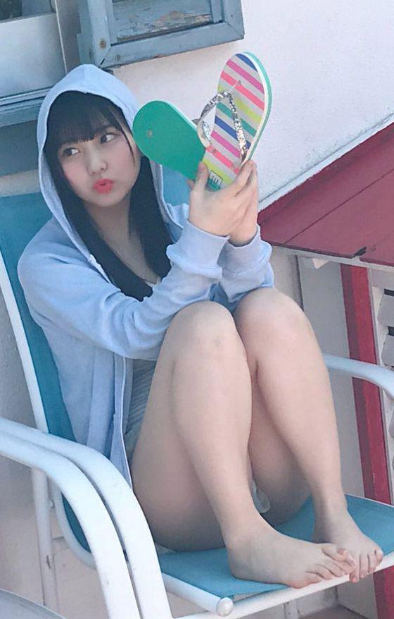 HKT48田中美久(16)のオフショットや自画撮りがえろい!!【エロ画像】