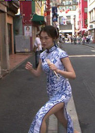 福田典子アナ(27)のモヤさまのチャイナドレス姿がぐうシコ。。【エロ画像】