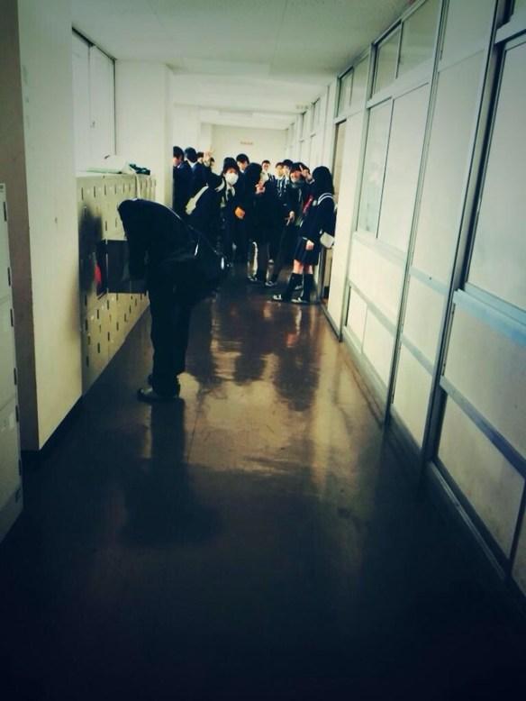 今日学校でガチな心霊写真撮った