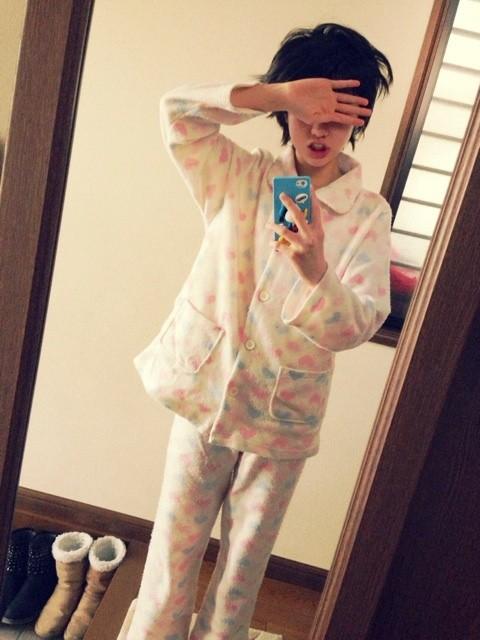 工藤遥ちゃんのパジャマ&寝癖画像キタ━━━━━━(゚∀゚)━━━━━━ !!!!!