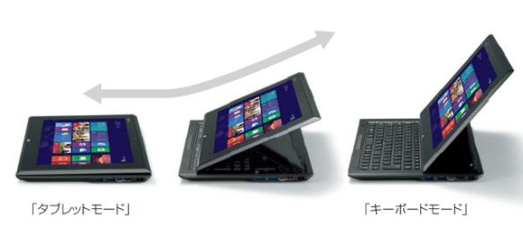 Windows8のタッチ操作! タブレットモードのVAIO Duo 11【動画で見る新型VAIO】