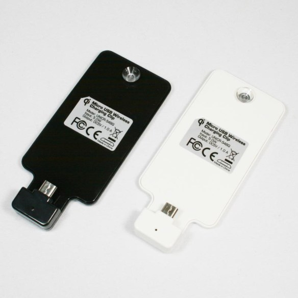 充電もワイヤレス!GALAXY SIII / SII / Note対応のワイヤレスチャージクリップ【イケショップのレア物】