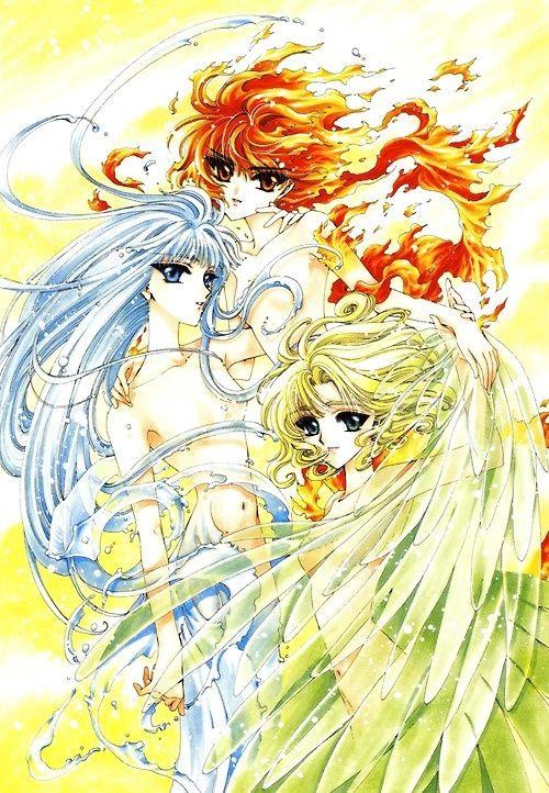 Anime Manga Wallpaper 好きです、薄い本 魔法騎士レイアース Clamp その4 付録・イラスト つづき