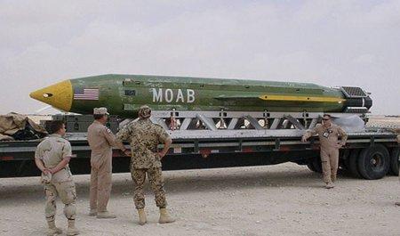 イスラム国 MOAB 投下に関連した画像-01