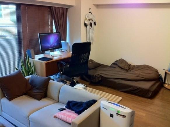 俺の部屋まったく生活感なくてワロタwwwwwwwww