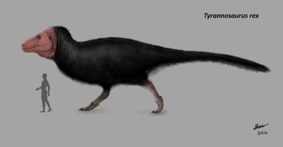 【唖然】ティラノサウルスの最新予想図クソワロタwwwwwwwww
