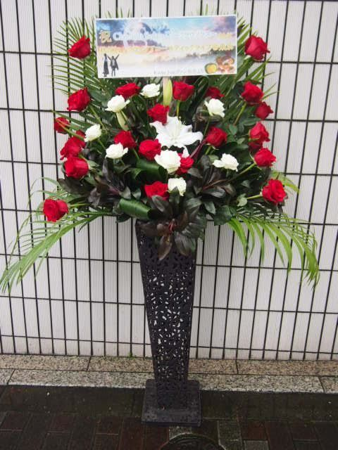 赤坂GRAFFITI|秋のスタンド花(9月10月)|フラワースタンド スタンド花 カノシェ