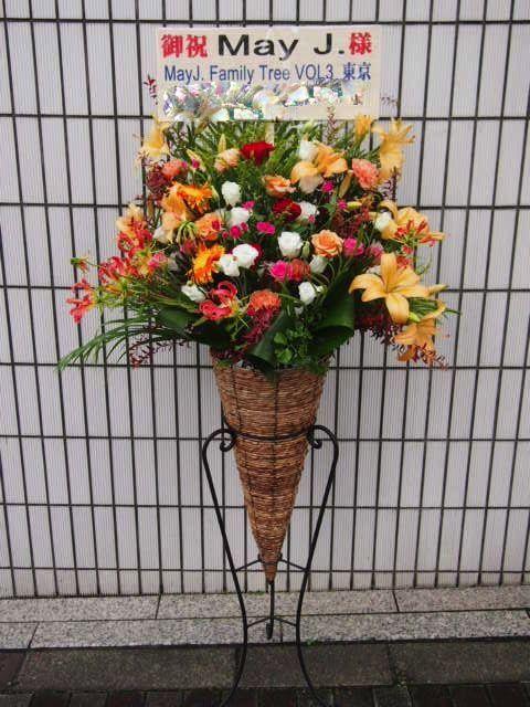 Y恵比寿 秋のスタンド花(9月10月)|フラワースタンド スタンド花 カノシェ