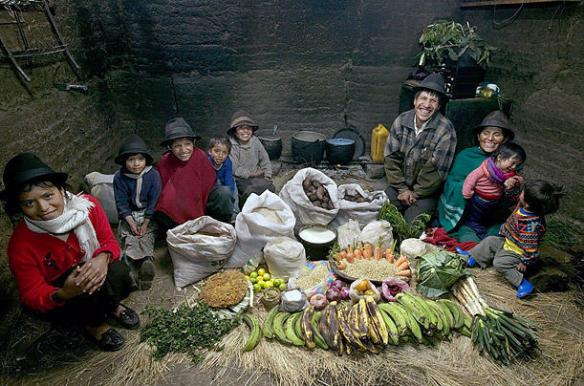 【画像あり】世界各国の1週間分の食料すごすぎwwwwwww