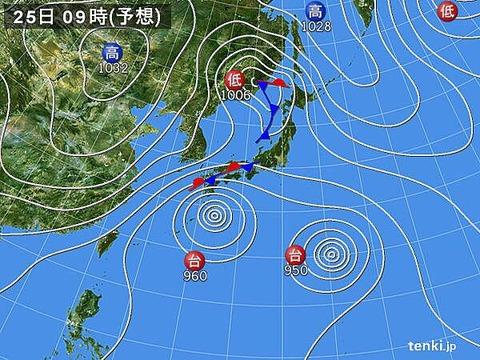 【速報】気象図がエロいwwwwwwwwwwwwwwwwwwwww