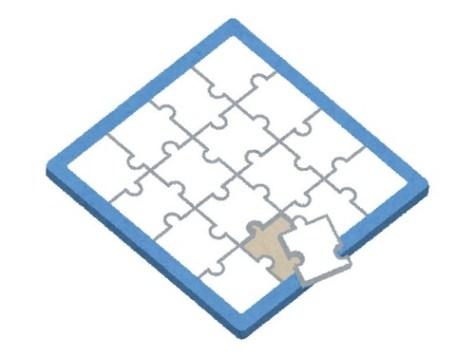 ディズニーの巨大ジグソーパズル00